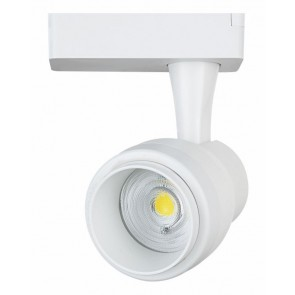 LIPER LED track light LPTRL-15E02, IP20, 15W 4000K, μεταλλικό, λευκό