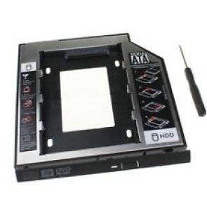 """NB MOBILE ODD Einbaurahmen 9.5mm f. 2.5"""" HDD/SSD"""