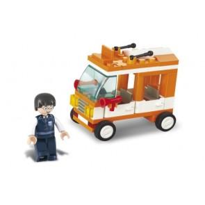 SLUBAN Τουβλάκια Town, Mini Bus M38-B0179, 72τμχ