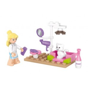 SLUBAN Τουβλάκια Girls Dream, Pet Salon M38-B0515, 30τμχ