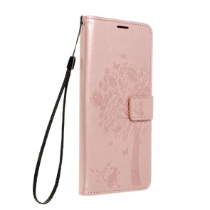 Forcell MEZZO Book case for SAMSUNG Galaxy A42 5G tree rose gold