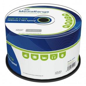 MEDIARANGE DVD-R 4,7 GB 16x Cake 50τμχ