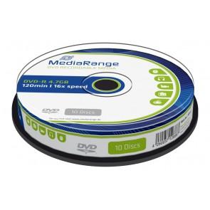 MediaRange DVD-R 4,7 GB 16X Cake10