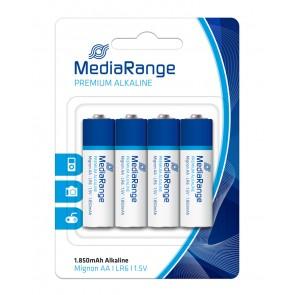 MediaRange Premium Αλκαλικές μπαταρίες τύπου AA (LR06)  - 4PACK