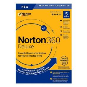 NORTON Antivirus 360 Deluxe ESD, 5 συσκευές, 50GB cloud, 1 έτος