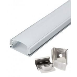 OPTONICA ράγα για καλωδιοταινία LED 5190, μεταλλική, 1m