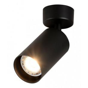 OPTONICA φωτιστικό οροφής 9072, για λάμπα GU10, μεταλλικό, IP20, μαύρο