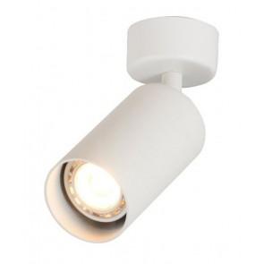 OPTONICA φωτιστικό οροφής 9076, για λάμπα GU10, μεταλλικό, IP20, λευκό