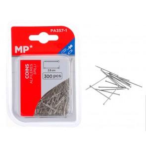 MP μεταλλικές καρφίτσες PA357-1, 2.8cm, 300τμχ