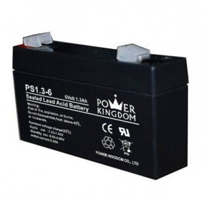 Power Kingdom lithium μπαταρία , 1.3Ah/6V
