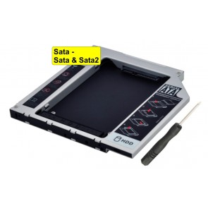"HDD Caddy Sata 2.5"", 12.7"