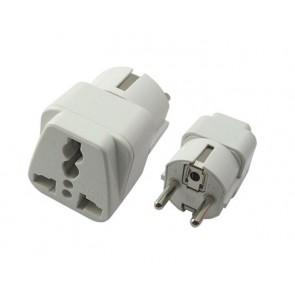 Powertech adapter German type, σε UNIVERSAL, CCA