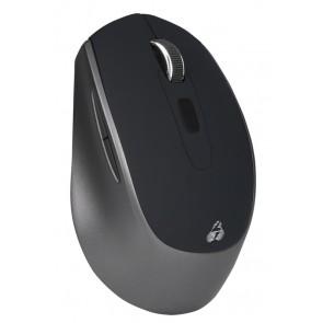 POWERTECH ασύρματο ποντίκι PT-809, οπτικό, 1600DPI, μαύρο