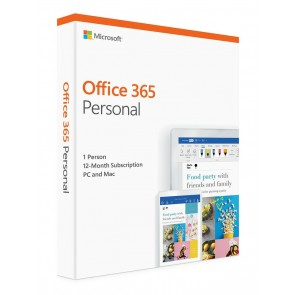 MICROSOFT Office 365 Personal, English, 1 έτος