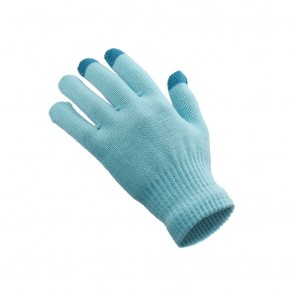 Touch Screen Glove for Woman blue 18x11 cm