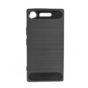 Forcell CARBON Case for SONY Xperia XZ1 black