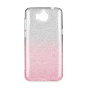 Forcell SHINING Case Huawei Y6 2018 clear/violet
