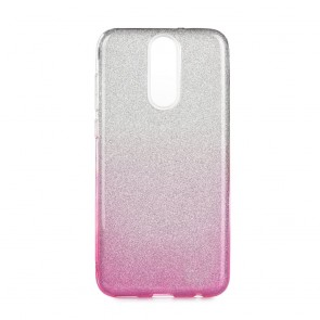 Forcell SHINING Case Huawei Mate 10 LITE clear/pink