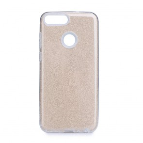 Forcell SHINING Case Huawei P SMART 2019 gold