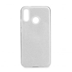 Forcell SHINING Case Huawei P20 LITE silver
