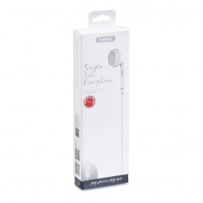 REMAX RM-101 Single Side Earphone white