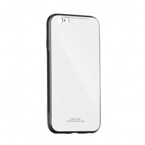 "GLASS Case IPHO XR ( 6,1"" ) white"