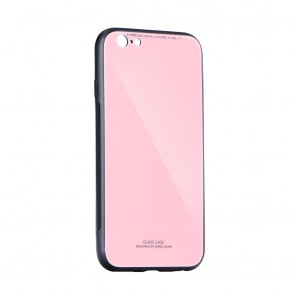 GLASS Case for XIAOMI Redmi 8A pink