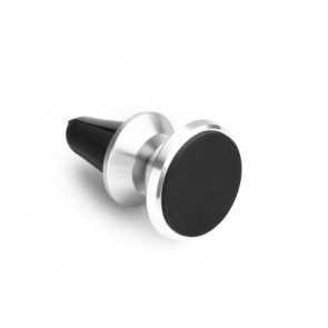 Car holder for smartphone Magnetic to air vent silver