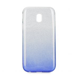Forcell SHINING Case Samsung Galaxy J3 2017 transparent/blue
