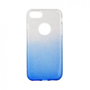 Forcell SHINING Case for IPHONE 7 / 8 clear/blue