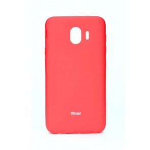 Roar Colorful Jelly Case - SAM Galaxy J4 2018  hot pink