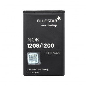 Battery for Nokia 1208/1200 1100 mAh Li-Ion Blue Star