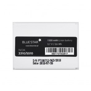 Battery for Nokia 3310/5510 1500 mAh Li-Ion Blue Star