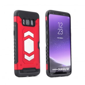 Forcell MAGNET Case Samsung Galaxy S10 Plus red