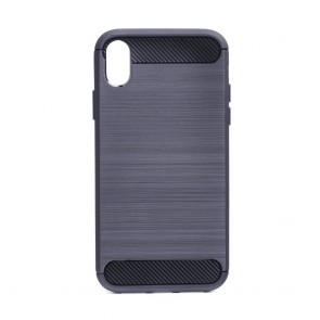 "Forcell CARBON Case for IPHONE XR ( 6,1"" ) graphite"