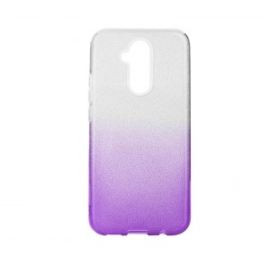 Forcell SHINING Case for HUAWEI Mate 30 LITE clear/violet