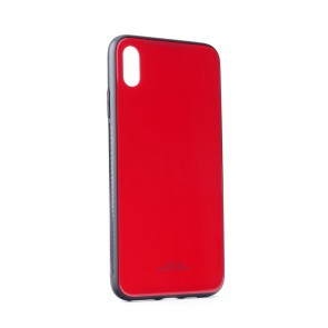 "GLASS Case for IPHONE XS Max ( 6,5"" ) red"