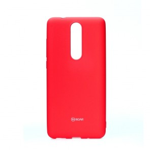 Roar Colorful Jelly Case - Nokia 5.1 2018  hot pink