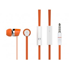 CELEBRAT Ακουστικά Handsfree R20-O, On-Off, Orange
