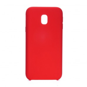 Forcell Silicone Case for SAMSUNG Galaxy J3 2017 red