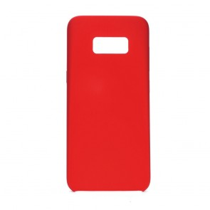Forcell Silicone Case for SAMSUNG Galaxy S8 red