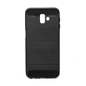 Forcell CARBON Case for SAMSUNG Galaxy J6+ ( J6 Plus ) black