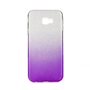 Forcell SHINING Case Samsung Galaxy J4+ ( J4 Plus ) clear/violet