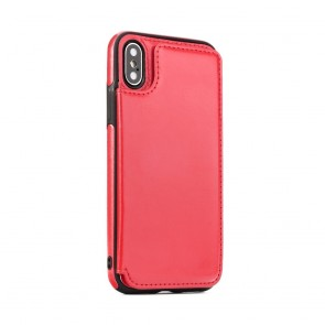 Forcell Wallet Case  - Samsung A7 2018 red