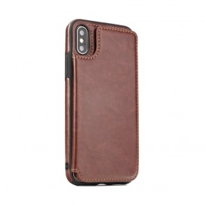 Forcell Wallet Case  - Samsung A7 2018 brown