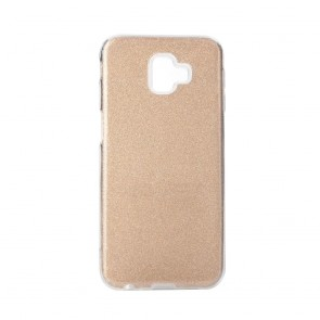 Forcell SHINING Case Samsung Galaxy J6+ ( J6 Plus ) gold