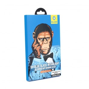 5D Mr. Monkey Glass - Samsung Galaxy NOTE 8 transparent (UV Glass)