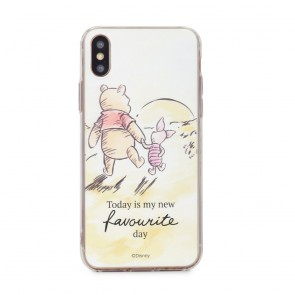Case with licence IPHO X Winnie the Pooh and Friends  (012)