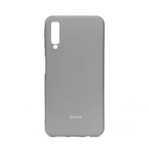 Roar Colorful Jelly Case - SAM Galaxy A7 2018 grey