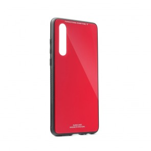 GLASS Case Huawei P30 red